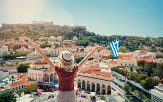 Athene - Vrouw uitzicht