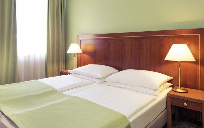 Tweepersoonskamer van Hotel Mercure Wien Westbahnhof in Wenen