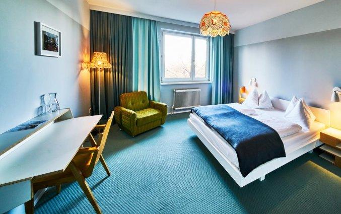 Tweepersoonskamer van Hotel Magdas in Wenen