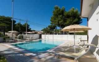 Zwembad van Bed & Breakfast Nacorè in Puglia