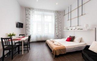 Appartement van appartementen Happy Tower Krakow in Krakau