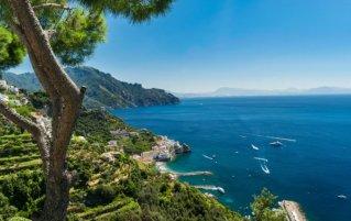 Amalfi - Uitzicht kust