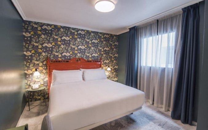 Tweepersoonskamer van Hotel Petit Palace Puerta de Triana in Sevilla