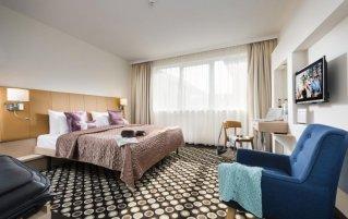 Tweepersoonskamer van Hotel Bo33 in Budapest
