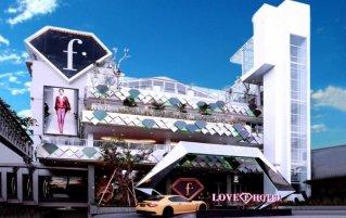 Gebouw van Hotel Fashion Legian op Bali