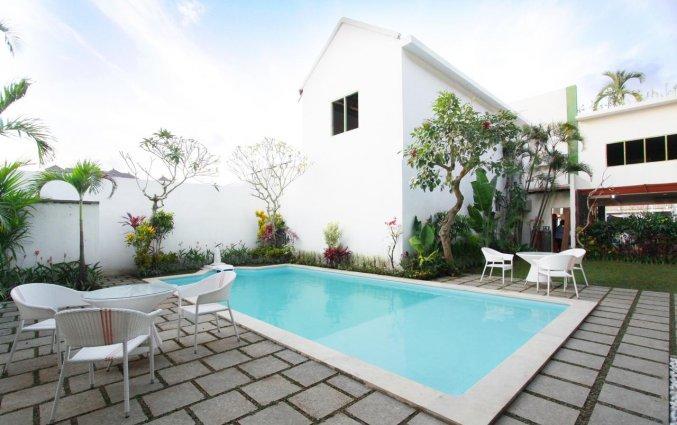 Buitenzwembad van Hotel Spazzio op Bali
