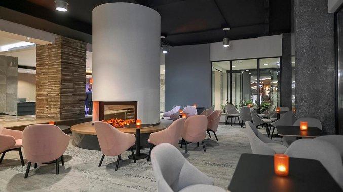 Bar van Hotel Metropol in Warschau