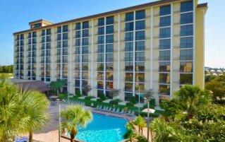 buitenaanzicht van hotel Rosen Inn