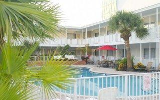 Zwembad van Collins hotel