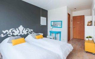 Tweepersoonskamer van hotel Fosshotel Lind