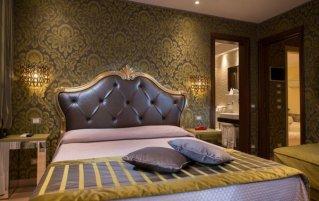 Tweepersoonskamer van hotel Ca'Marinella