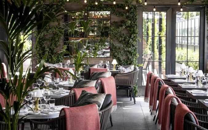 Restaurant van hotel Croke Park in Dublin