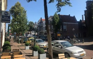 Ingang van hotel Best Western City Leiden