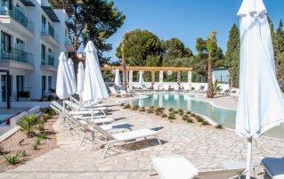 Zonneterras van Hotel Son Doma in Mallorca