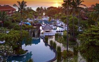 Zwembad van resort The Westin Nusa Dua in Bali