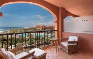 Balkon van Hotel Sheraton Fuerteventura Golf & Spa Resort in Caleta de Fuste