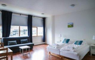 Slaapkamer van appartementen Iceland Comfort in IJsland