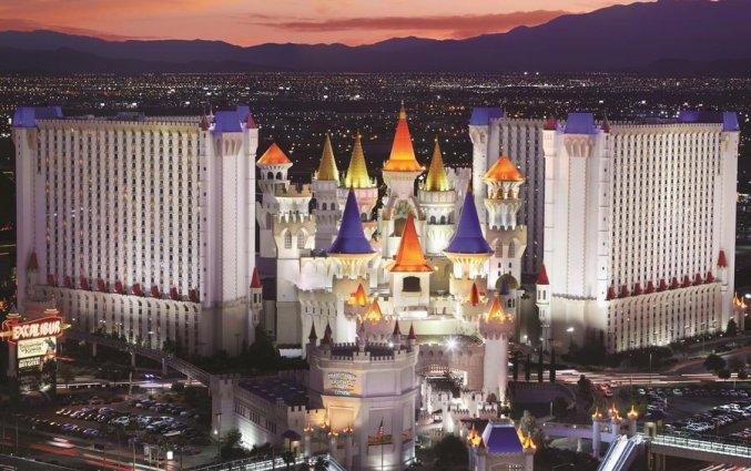 Korting Verblijf in een kasteel midden in Vegas! Hotel Las Vegas Strip