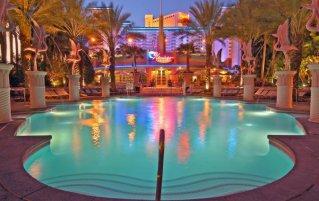 Zwembad van Hotel Flamingo Las Vegas