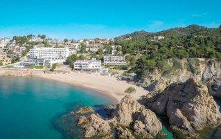 Strand van Hotel Golden Mar Menuda aan de Costa Brava