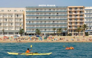 hotel Pi-mar in Costa Brava