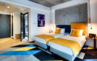 Tweepersoonskamer hotel Lwowska1