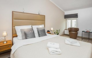 Slaapkamer van appartementen Pergamin Royalin Krakau