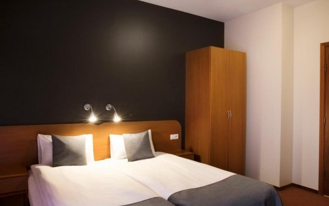 Slaapkamer van hotel Fosshotel Baron in Reykjavik