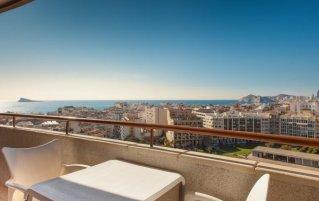 Lounge van hotel Primavera Park in Alicante