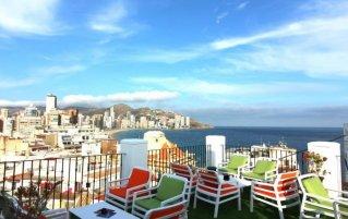 Uitzicht van hotel Queens by Mc - Only Adults in Alicante