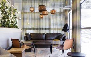 Zitgedeelte in Comfort hotel Xpres Stockholm Central