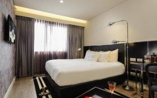 Tweepernsoonskamer van hotel NYX Tel Aviv