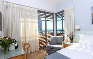 Tweepersoonskamer van Hotel Gilgal Tel Aviv