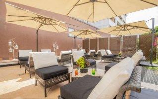 Tuin van hotel Montresor Palace in Verona