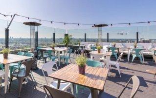 Sky bar van Leonardo Hotel Amsterdam Rembrandtpark