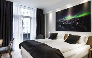 Tweepersoonskamer van Hotel Storm by Keahotels in Reykjavik