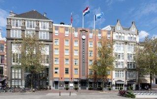 Buitenaanzicht van het WestCord City Centre Hotel Amsterdam