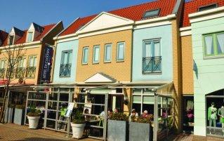 Gebouw van Fletcher Hotel-Restaurant de Cooghen op Texel
