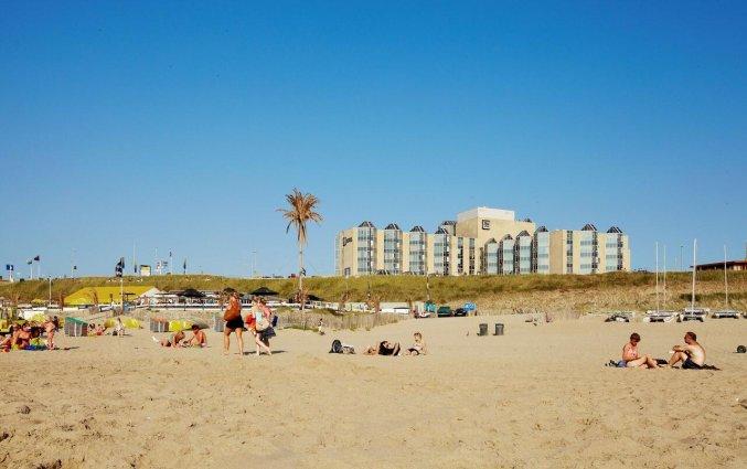 Hotel NH Zandvoort aan het strand van Nederlandse Kust