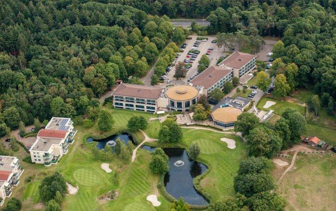 Uitzicht op Hotel DoubleTree by Hilton Royal Parc Soestduinen op de Utrechtse Heuvelrug