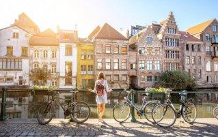 Gent - Vrouw gracht