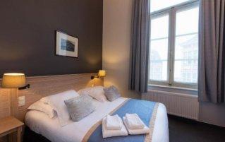Tweepersoonskamer in Hotel Gravensteen Gent