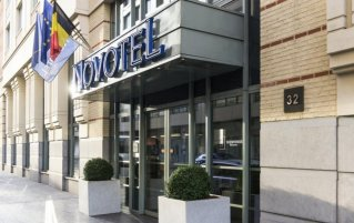 Ingang van Novotel Brussels City Centre