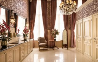 Lobby van Grand Hotel Casselbergh in Brugge