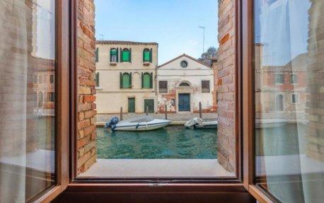 Uitzicht vanuit Hotel Eurostars Residenza Cannaregio in Venetie