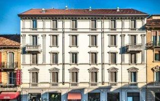 Gebouw van Eurohotel in Milaan