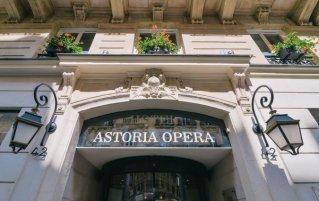 Gebouw van Hotel Astoria Astotel in Parijs