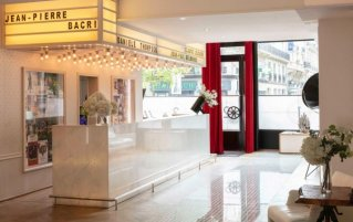Receptie van hotel Le 123 Sebastopol - Astotel in Parijs