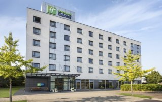 Gebouw van Hotel Holiday Inn Express Düsseldorf City North in Düsseldorf