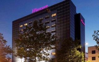 Buitekant van het Hotel Mercure Den Haag Central
